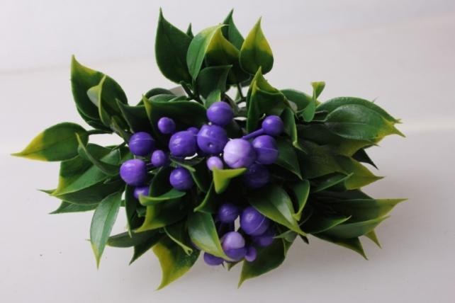 костеника сиреневая букет - цветы искусственные