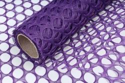 Крошет круглая ячейка 50см*4,5м фиолетовый 3988 (Н)