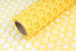 Крошет круглая ячейка 50см*4,5м желтый 3834 (Н)