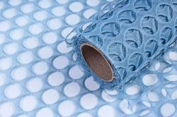 """Крошет """"Крупная ячейка"""" 50см*5ярд серо-голубой (Н)"""