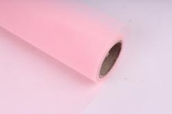 """Крошет """"Тюль"""" 50см*5ярд розовый (Н)"""