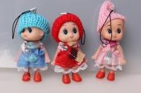 Кукла (3шт в уп) 100011