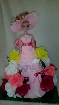 Куклы подарочные, цветочные