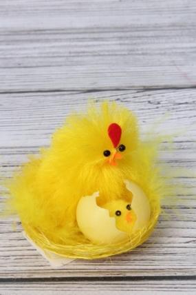 Курица в гнезде 1шт Арт.  16-18