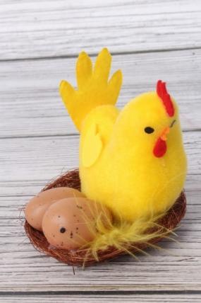 Курица в гнезде 1шт  15BY199 S