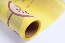 """Ламинированный фетр """"Палисадник"""", 60 см х 5 м Желтый"""