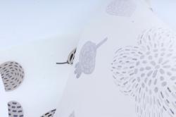"""Ламинированный фетр """"Палисадник"""", 60 см х 5 м Серый"""