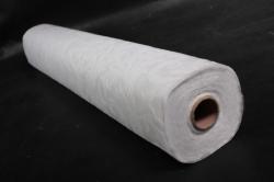 Ламинированный фетр 50см*10м Листья белый (Н)
