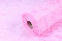 Ламинированный фетр 50см*10м Листья нежно розовый (Н)