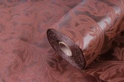 Ламинированный фетр 50см*10м Листья шоколад (Н)