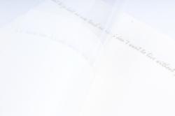 """Ламинированный фетр с пленкой """"Готовое решение под мини букет"""", 52,50 см х 30 см Белый (20шт/уп)"""