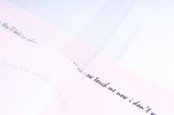 """Ламинированный фетр с пленкой """"Готовое решение под мини букет"""", 52,50 см х 30 см Нежно-розовый (20шт"""