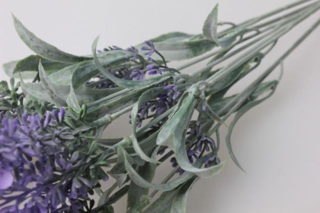 лаванда цветущая c-1135f - искусственные растения для декора