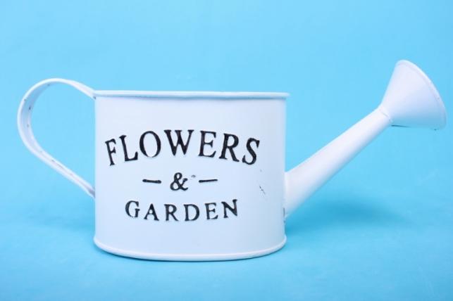 Лейка белая Flowers 132673 0632