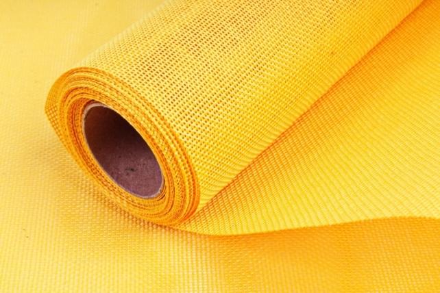 Лен однотонный 5ярд желтый