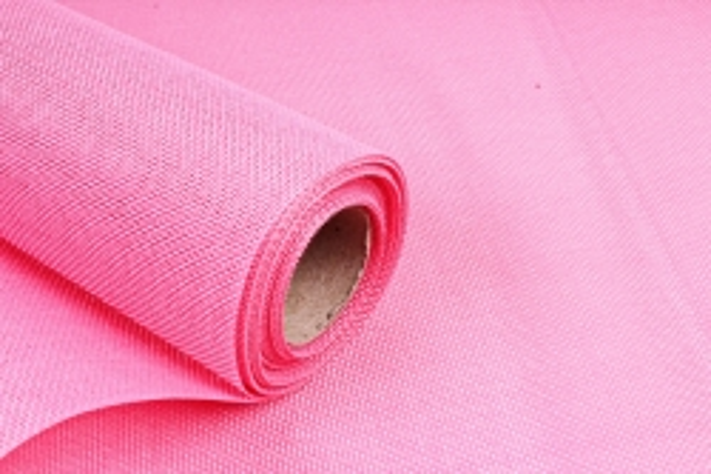 Лен однотонный 5ярд розовый
