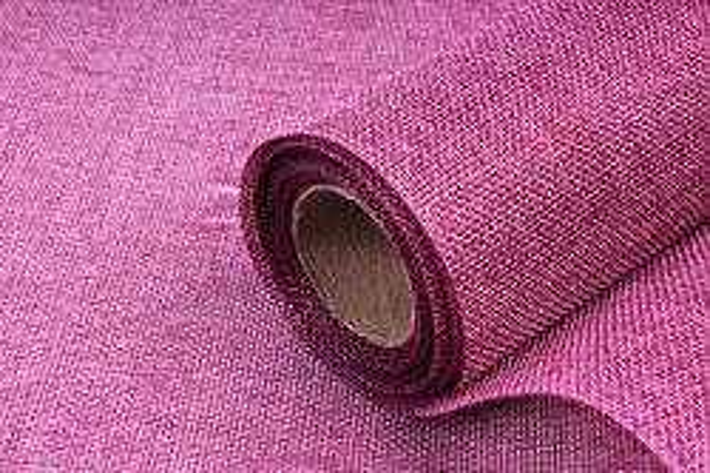 Лен однотонный 5ярд сиренево-розовый