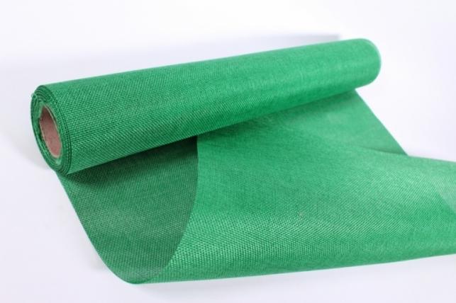 Лён в рулоне (50см*5ярд) однотоннный - Зеленый
