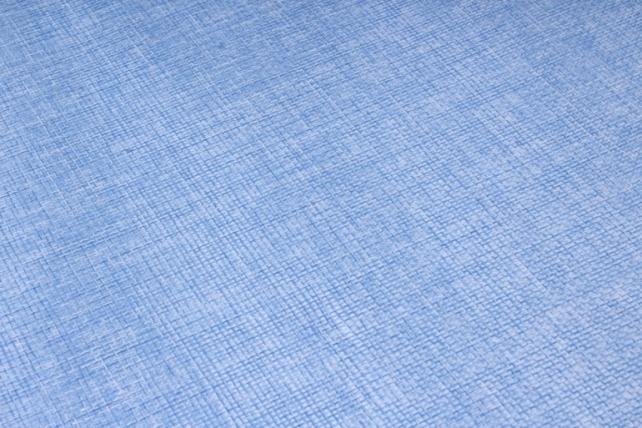 лён в рулоне  (50см*6ярд) однотон. ярко-голубой
