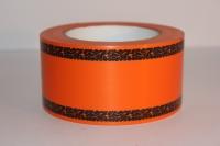 траурная ритуальная лента 6,0 см 50 ярдов дубки простые лента 6х50у оранжевая р674 P674