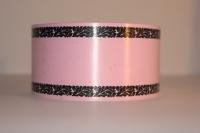 Лента 6х50м Розовая Р677