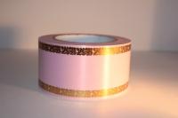 Лента 6х50у Светло-розовая A628