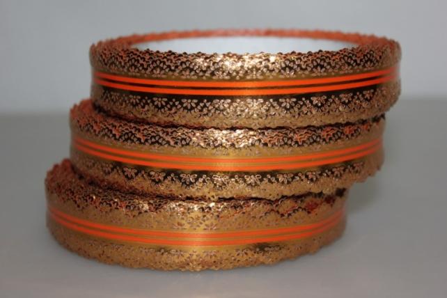 2х25у ажурная лента лента ажурная (2см х 25ярдов) - с217 оранжевый C217
