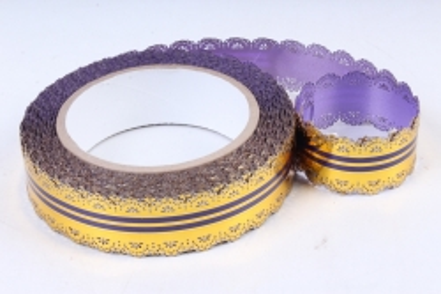 Лента ажурная 3х25у Фиолетовая С34