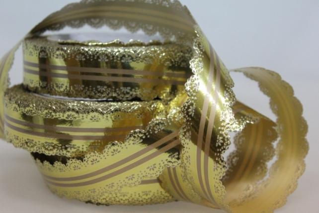 3х25у ажурная лента лента ажурная (3см х 25ярдов) - с31 бронзовый C31