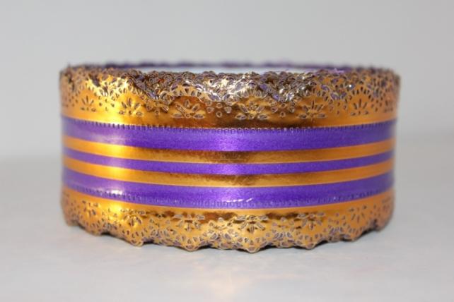 Лента ажурная 5х25у Фиолетовая с54