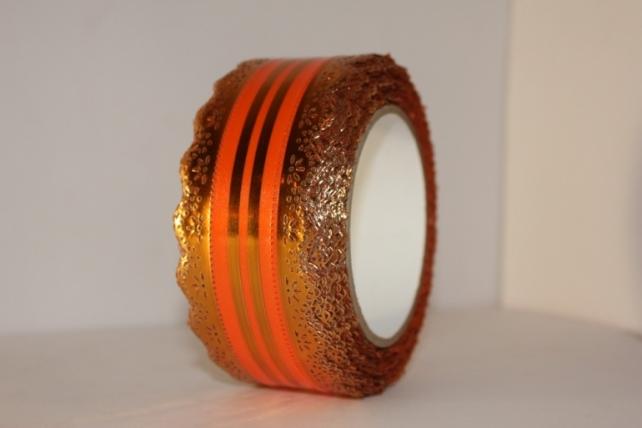 5х25у ажурная лента лента ажурная 5х25у оранжевая с517 C517