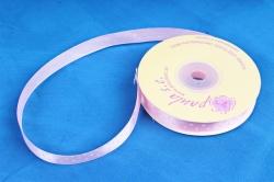 Лента атл. в горошек Светло-розовая  1,2мм*25м   KROPKA 004