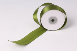 лента атлас 4см х 25ярд оливка 175 (н) к