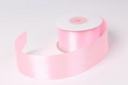 Лента атлас 4см х 25ярд светло-розовый 4(Н) К