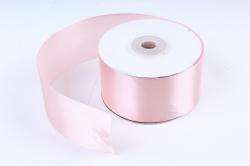 Лента атлас 4см х 25ярд розовый пастель (Н). К