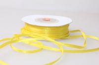 Лента атласная (03мм х 30м) Желтая Китай