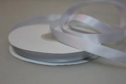 Лента атласная (10 мм х 30 м) Белая Китай