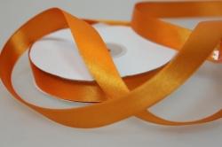 Лента атласная (15 мм х 30 м) Оранжевая Китай