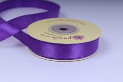 Лента атласная - 15мм*25м, Фиолетовая 151150 К