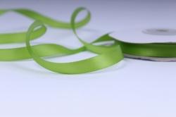 Лента атласная - 1см*25ярд оливка 550 (Н). К
