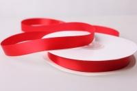 Лента атласная (1см на 25ярдов) Н - Красный