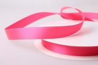 Лента атласная (1см на 25ярдов) Н - Розовый