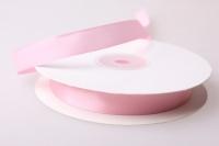 Лента атласная (1см на 25ярдов) Н - Светло-розовая