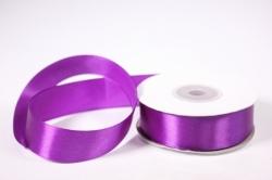 Лента атласная - 2,5см*25ярд фиолетовый 46 (Н). К