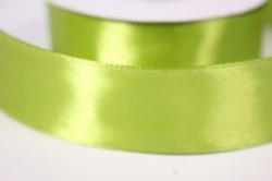 лента атласная - 2,5см*25ярд оливка 175 (н). к
