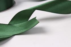 лента атласная 2,5см*25ярд темно-зеленый(н) к
