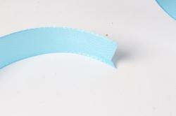лента атласная 2см*25ярд  голубой   (н) к