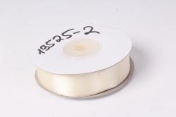 лента атласная 2см*25ярд  кремовый (н) к