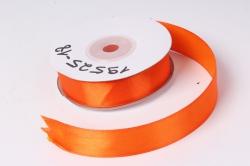 Лента атласная 2см*25ярд  оранжевый   (Н) К