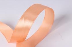 лента атласная 2см*25ярд  персик пастель  (н) к